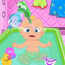 game Adorable Little Baby Bath