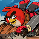 game Angry Birds Race Puzzle