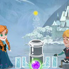 game Anna And Kristoff Bubble