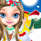 game Baby Barbie Christmas Magic