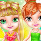 game Baby Barbie Fairy Salon