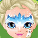 game Baby Barbie Frozen Face Painting