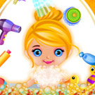 game Baby Cinderella Fun Bath