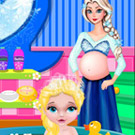 game Baby Elsa Bubble Bath