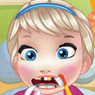 game Baby Elsa Tooth Problems