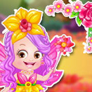 game Baby Hazel Flower Princess Dressup