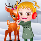 game Baby Hazel Reindeer Surprise