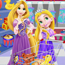 game Baby Rapunzel And Mom Shopping