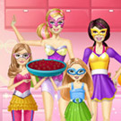 game Barbie Family Cooking Summer Berry Pie