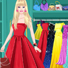 game Barbie Prom Dress Up