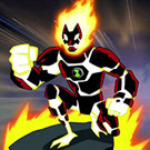 game Ben 10 The Master Of Flame