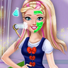 game College Princess Makeover