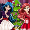 game Disney Princesses Christmas Tree