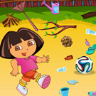 game Dora And Diego Playing Football