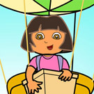 game Dora Baloon Express