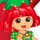 game Dora Christmas Travel