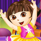 game Dora Dancer Dress Up