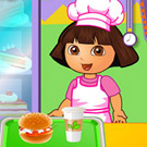 game Dora Fun Cafe
