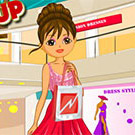 game Dora Shopping And Dress Up