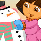 game Dora Snow Challenges