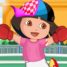 game Dora Sports Dress Up