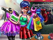 game Dotted Girl Realife Shopping