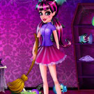 game Draculaura Room Cleaning