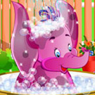 game Elephant Bathing