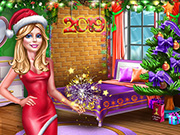 game Ellie New Year Room Deco