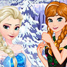 game Elsa And Anna Sweet Shop
