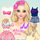 game Elsa As Malibu Barbie
