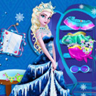 game Elsa Closet Cleaning