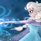 game Elsa Collect Snowflakes