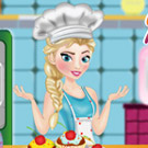 game Elsa Cooking Muffins