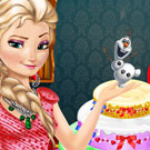 game Elsa Frozen Birthday