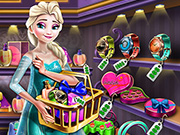 game Elsa Gift Shopping