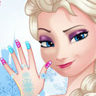 game Elsa Great Manicure