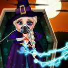 game Elsa Halloween Emergency