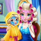 game Elsa Mommy Real Makover