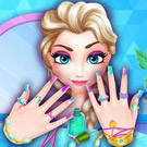 game Elsa Nails Salon