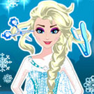 game Elsa New Hairstyles