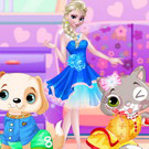 game Elsa Pet Show Contest