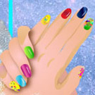 game Elsa Royal Manicure