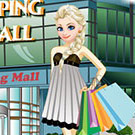 game Elsa Shopping At The Mall