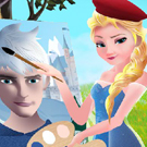 game Elsa The Painter
