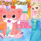 game Elsa Tiger Care
