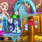 game Elsa Toys Factory