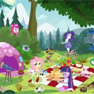 game Equestria Girls Picnic Story