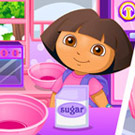 game Explore Cooking With Dora