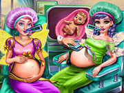 game Fairies BFFs Pregnant Check-up